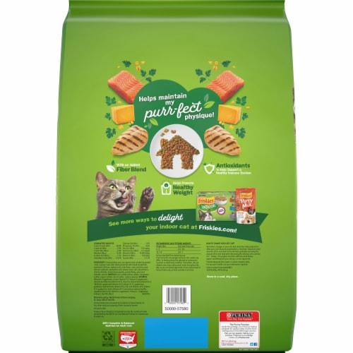 Purina Friskies Indoor Delights Dry Cat Food Perspective: back