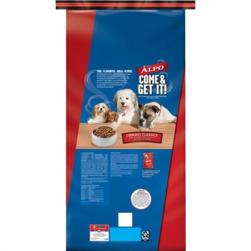 ALPO® Come & Get It! Cookout Classics Adult Dry Dog Food Perspective: back