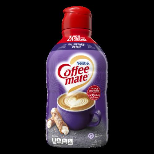 Coffee-mate® Italian Sweet Creme Liquid Coffee Creamer Perspective: back