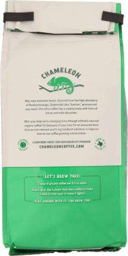 Chameleon Guatemala Organic Medium Roast Ground Coffee Perspective: back