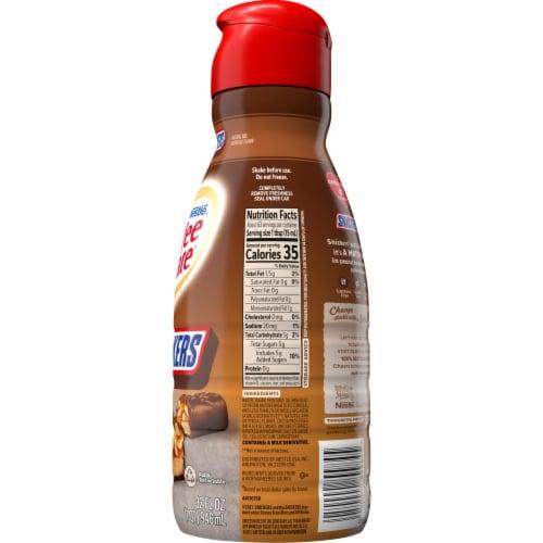 Nestle Coffee mate Snickers Liquid Coffee Creamer Perspective: back