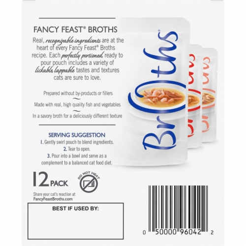 Fancy Feast Classic Collection Variety Pack Perspective: back