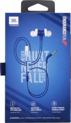 JBL® Blue Headphones Perspective: back