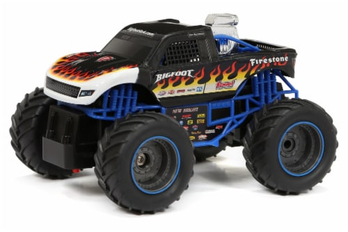 New Bright Monster Truck Vehicle - Assorted Perspective: back