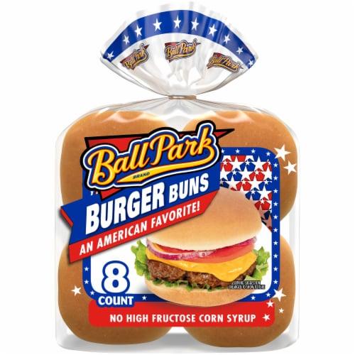 Ball Park Burger Buns Perspective: back