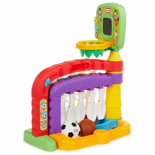 Little Tikes 643224P 3-in-1 Sports Zone Light Up Baby Toddler Toy with Sound Perspective: back
