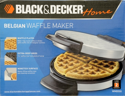 BLACK + DECKER Belgian Waffle Maker Perspective: back