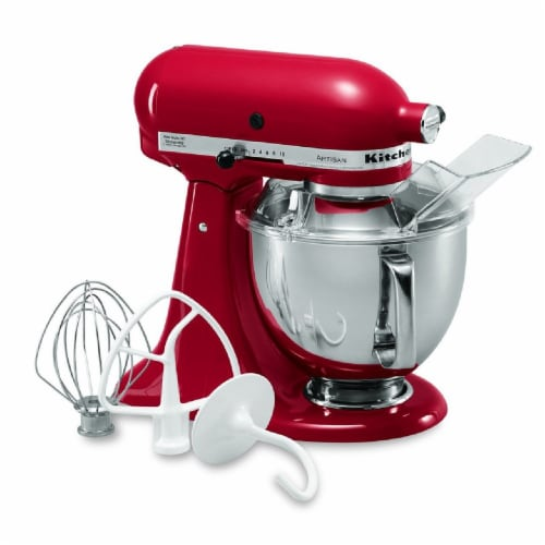 KitchenAid KSM150PSER Artisan Tilt-Head Stand Mixer - Empire Red Perspective: back