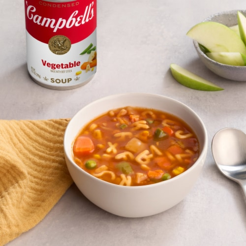 Campbell's Condensed Vegetable Soup Perspective: back