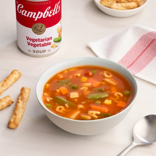Campbell's® Vegetarian Vegetable Condensed Soup Perspective: back