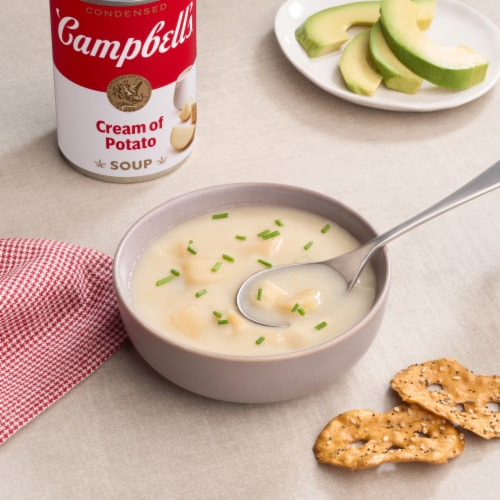 Campbell's Cream of Potato Condensed Soup Perspective: back