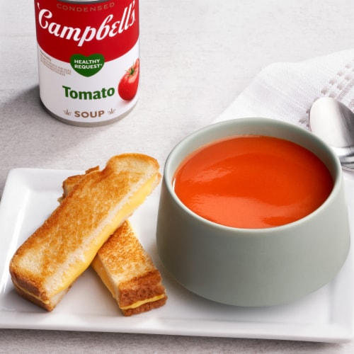 Campbell's® Condensed Healthy Request Tomato Soup Perspective: back