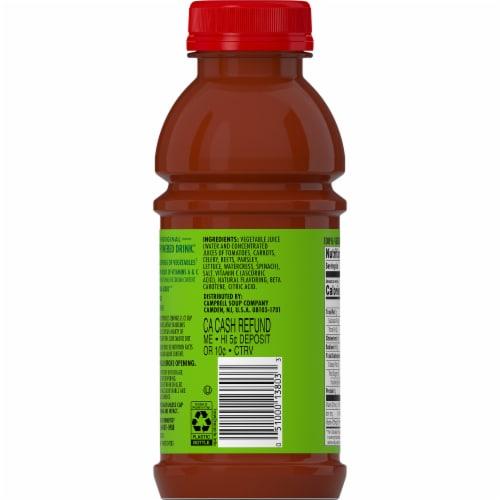 V8 Original 100% Vegetable Juice Perspective: back