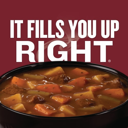 Campbell's Chunky Savory Pot Roast Soup Perspective: back