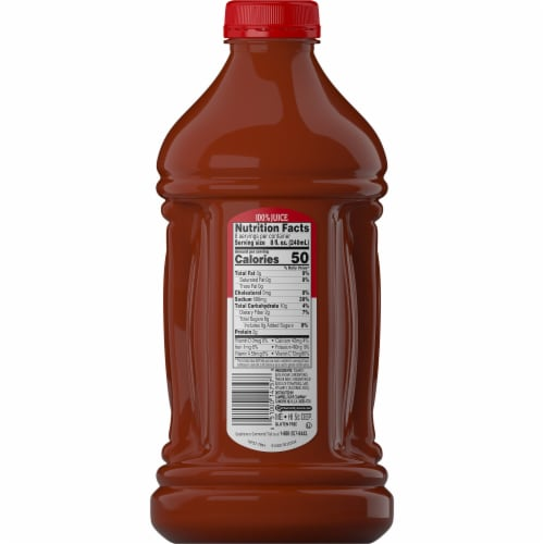 Campbell's® Tomato Juice from Concentrate Perspective: back