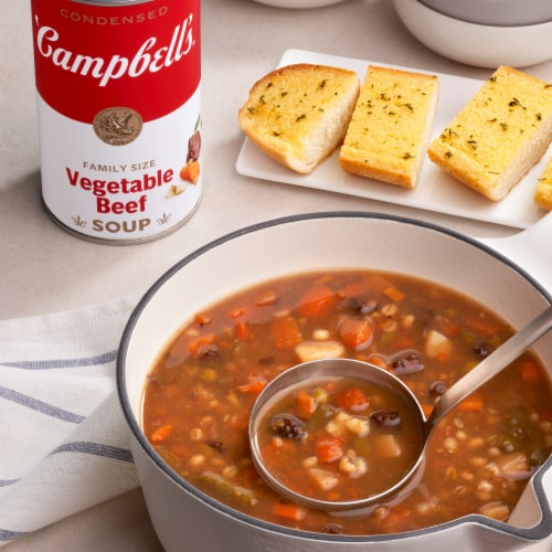 Campbell's® Vegetable Beef Condensed Soup Family Size Perspective: back