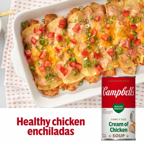 Campbell's® Healthy Request® Condensed Cream of Chicken Soup Perspective: back