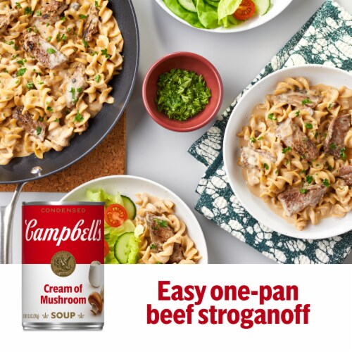 Campbell's® Condensed Cream of Mushroom Soup Perspective: back