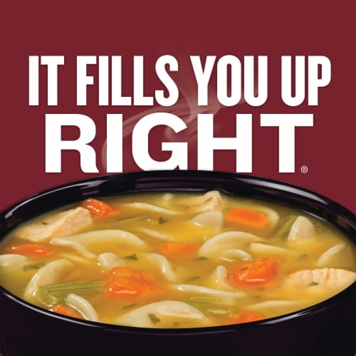 Campbell's Chunky Classic Chicken Noodle Soup Perspective: back