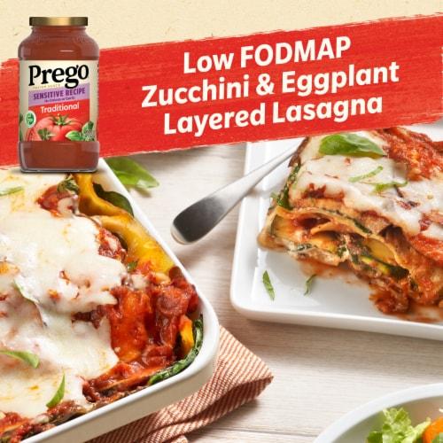 Prego Sensitive Recipe Traditional Italian Sauce Perspective: back