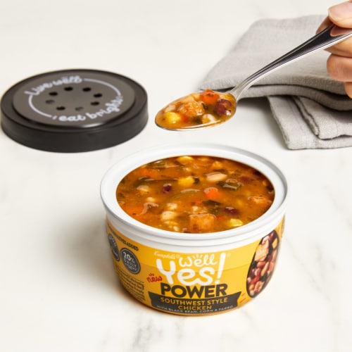 Campbell's® Well Yes!® Power Southwest Style Chicken Soup Perspective: back