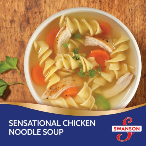 Swanson® Chicken Broth Perspective: back