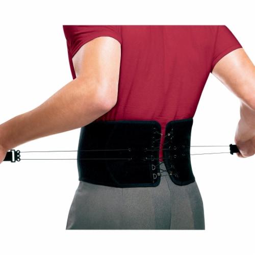 Futuro Adjustable Back Support - Black Perspective: back