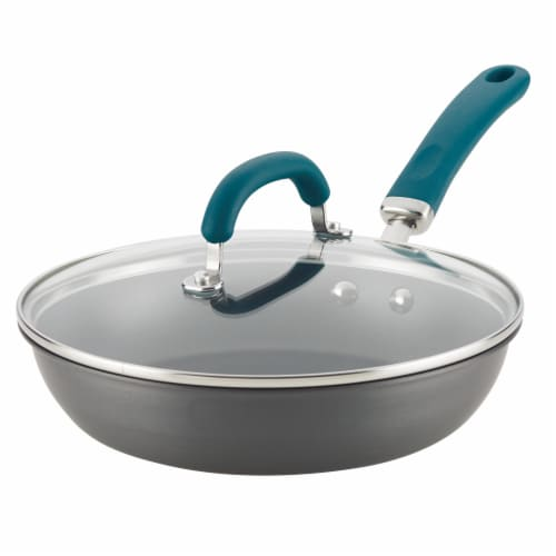 Rachael Ray Create Delicious Aluminum Nonstick Deep Frying Pan Perspective: back