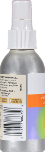 Aura Cacia Patchouli & Orange Aromatherapy Mist Perspective: back