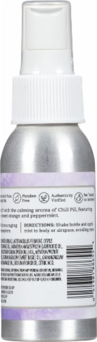 Aura Cacia Chill Pill Essential Solutions Mist Perspective: back