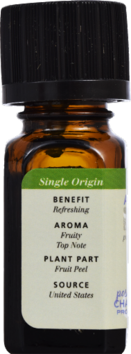 Aura Cacia Organic Grapefruit Oil Perspective: back