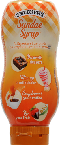 Smucker's Caramel Sundae Syrup Perspective: back