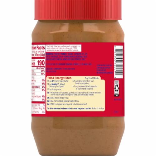 Jif Creamy Peanut Butter Perspective: back