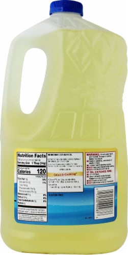 Crisco® Pure Vegetable Oil Perspective: back