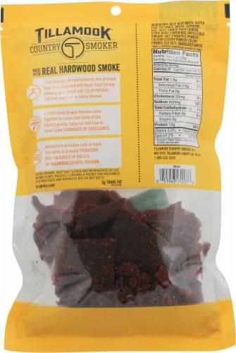 Tillamook® Country Smoker Zero Sugar Teriyaki Beef Jerky Perspective: back