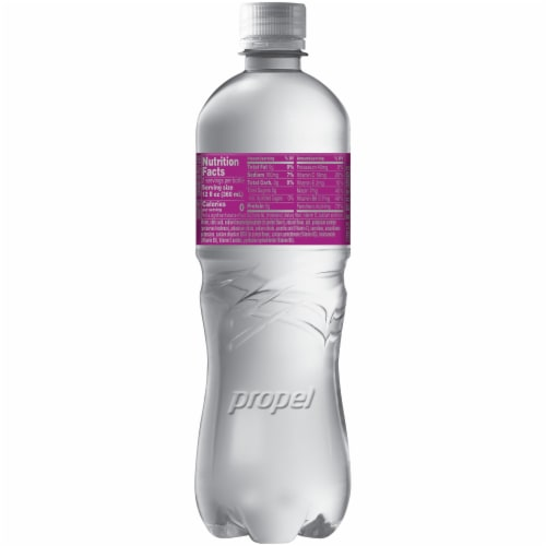 Propel Water Zero Calorie Sports Drinks Enhanced with Electrolytes Vitamins C & E - Berry Perspective: back