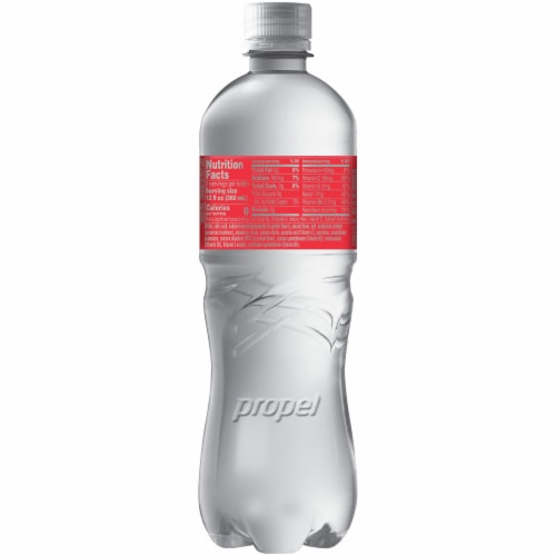 Propel® Water Zero Calorie Sports Drinks Enhanced with Electrolytes  Vitamins C & E - Watermelon Perspective: back