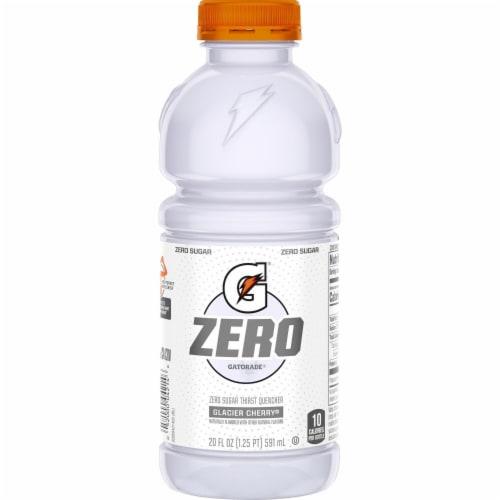 Gatorade G Zero Sugar Glacier Cherry Electrolyte Enhanced Sports Drink Perspective: back