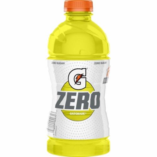 Gatorade® G Zero Sugar Thirst Quencher Lemon-Lime Sports Drink Perspective: back