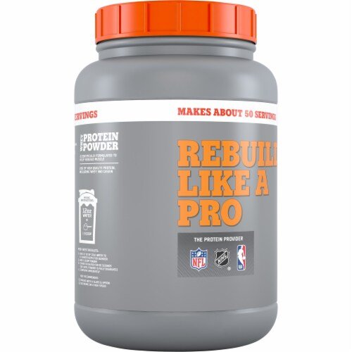 Gatorade Recover Chocolate Whey Protein Powder Perspective: back
