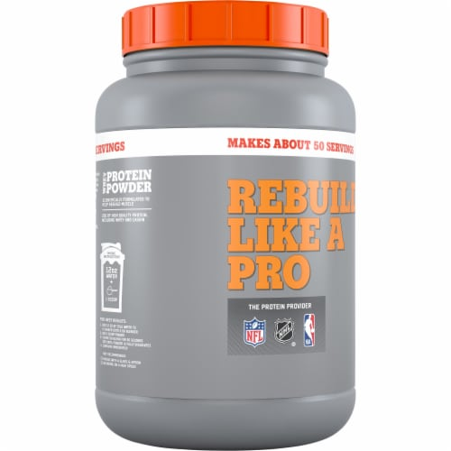Gatorade Recover Cookies & Creme Whey Protein Powder Perspective: back