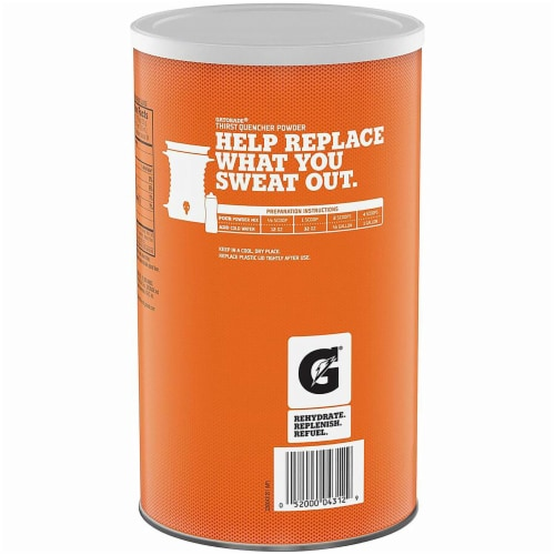 Gatorade Thirst Quencher Frost Glacier Cherry Powder Perspective: back