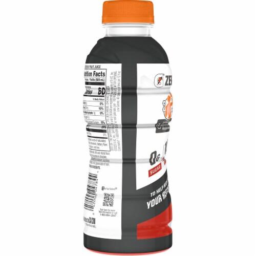 Gatorade Zero Fruit Punch Zero Sugar Protein Thirst Quencher Sports Drink Perspective: back