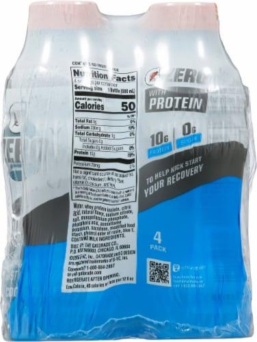 Gatorade® Zero Sugar Cool Blue Thirst Quencher Protein Sports Drink Perspective: back