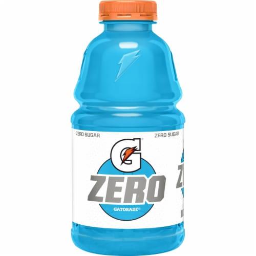 Gatorade Zero Sugar Thrist Quencher Cool Blue Sports Drink Perspective: back