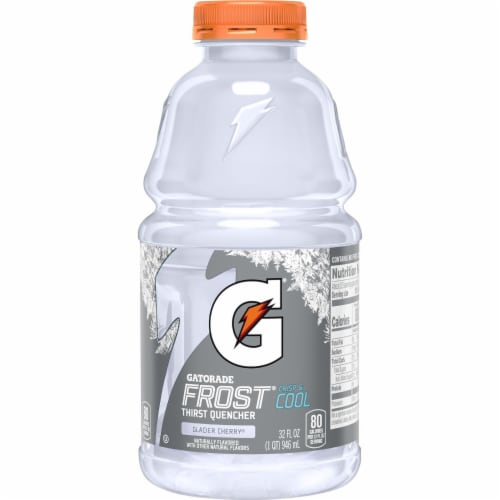 Gatorade Frost® Thirst Quencher Glacier Cherry Electrolyte Enhanced Sports Drink Perspective: back