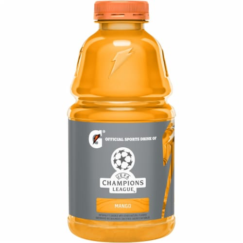 Gatorade® Thirst Quencher Mango Electrolyte Enhanced Sports Drink Perspective: back