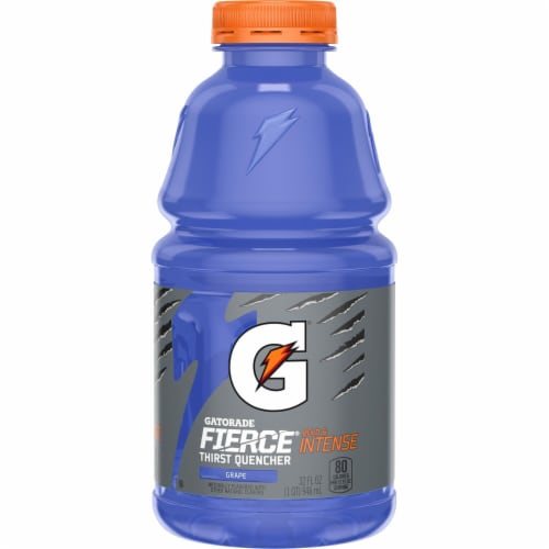 Gatorade Thirst Quencher Grape Electrolyte Enhanced Sports Drink Perspective: back