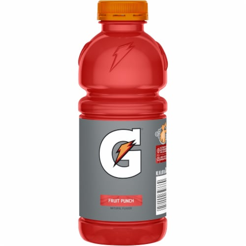 Gatorade® Thirst Quencher Fruit Punch Electrolyte Enhanced Sports Drink Perspective: back