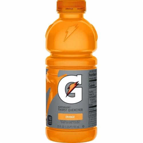 Gatorade® Thirst Quencher Orange Electrolyte Enhanced Sports Drink Perspective: back